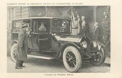 """CPA FRANCE 75005 """"Paris, Arrivée du Psdt Wilson"""""""