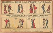 """75 Pari     CPA FRANCE 75005 """"Paris, Académie de danse de la Sorbonne"""" / TANGO"""