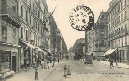 "CPA FRANCE 75005 ""Paris, la rue Claude Bernard"""