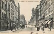 """75 Pari     CPA FRANCE 75005 """"Paris, la rue Saint Jacques et Sorbonne"""""""