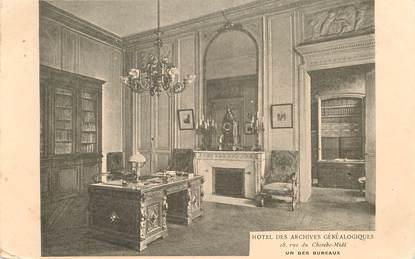 """CPA FRANCE 75006 """"Paris, Hotel des archives généalogiques"""""""