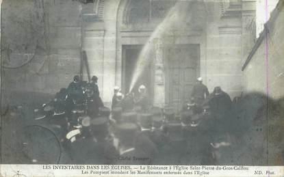 """CPA  FRANCE 75007 """"Paris, la résistance à l'Eglise Saint Pierre du Gros Caillou"""""""