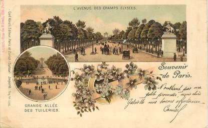 """CPA FRANCE 75008 """"Paris, Avenue des Champs Elysées"""""""