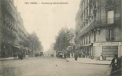 "CPA FRANCE 75008 ""Paris, le Faubourg Saint Honoré"""
