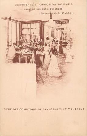 """CPA FRANCE  75008  """"Paris, Bld de la Madeleine"""""""