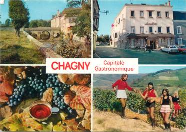 """/ CPSM FRANCE 71 """"Chagny, capitale gastronimique"""""""