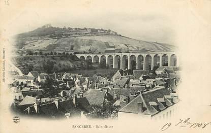 """CPA FRANCE 18 """"Sancerre, Saint Satur"""""""