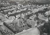 """71 SaÔne Et Loire / CPSM FRANCE 71 """"Le Creusot, vue aérienne, église Saint Henri et son quartier"""""""