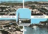 """71 SaÔne Et Loire / CPSM FRANCE 71 """"Souvenir du Creusot"""""""