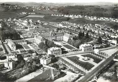 """/ CPSM FRANCE 71 """"Le Creusot, vue panoramique, hôtel Dieu"""""""