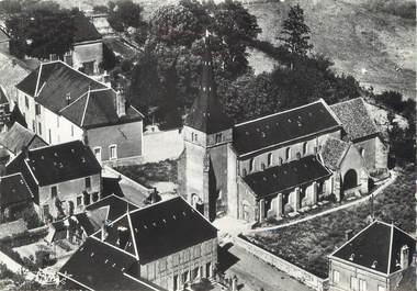 """/ CPSM FRANCE 71 """"Cussy en Morvan, quartier de l'église"""""""
