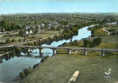"""/ CPSM FRANCE 71 """"Iguerande, pont sur la Loire"""""""