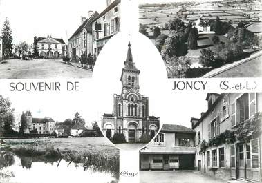 "/ CPSM FRANCE 71 ""Joncy"""