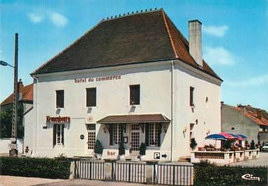 """/ CPSM FRANCE 71 """"Génélard, hôtel du Commerce"""""""