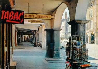 "/ CPSM FRANCE 71 ""Louhans, grande rue, les arcades"""