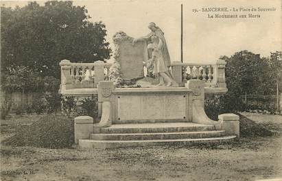 "CPA FRANCE 18 ""Sancerre, monument aux morts"""