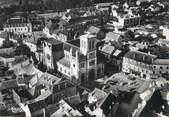 """71 SaÔne Et Loire / CPSM FRANCE 71 """"Digoin, vue aérienne sur l'église"""""""