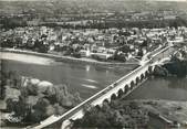 "71 SaÔne Et Loire / CPSM FRANCE 71 ""Digoin, vue aérienne sur la ville et le pont aqueduc"""