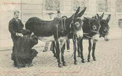 """CPA FRANCE 31 """"le marchand de lait d'anesses"""" / ANE"""