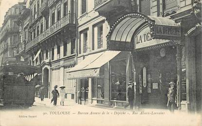 "CPA FRANCE 31 ""Toulouse, rue Alsace Lorraine"""