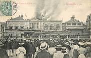 """14 Calvado CPA FRANCE 14 """"Trouville sur Mer, incendie du casino le 9 aout 1903"""""""
