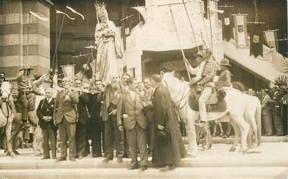 """CARTE PHOTO FRANCE 13 """"Marseille, souvenir des fêtes du couronnement de Notre Dame de la Garde, 1931"""""""
