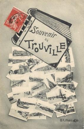 """CPA FRANCE 14 """"Souvenir de Trouville"""""""