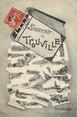 """14 Calvado CPA FRANCE 14 """"Souvenir de Trouville"""""""