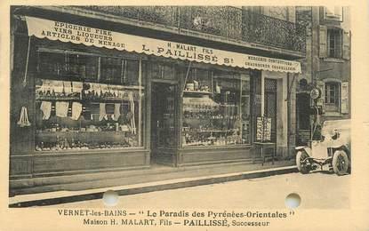 """CPA FRANCE 66 """"Vernet les Bains, Mercerie Epicerie fine"""""""