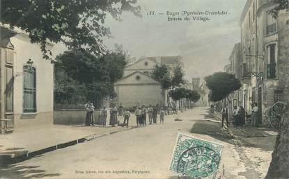 """CPA FRANCE 66 """"Bages, entrée du village"""""""