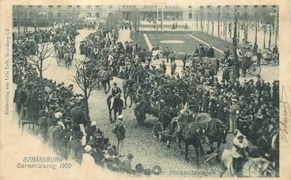 """CPA FRANCE 67 """"Strasbourg, Carnaval 1900"""""""