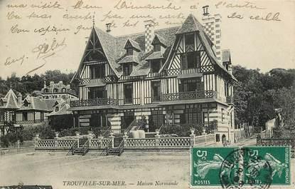 """CPA FRANCE 14 """"Trouville, Maison normande"""""""