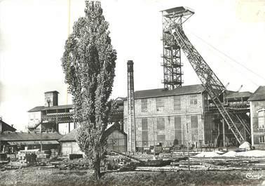 """/ CPSM FRANCE 71 """"Montceau les Mines, le puits Plichon"""" / MINES"""