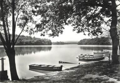 """/ CPSM FRANCE 71 """"Lac de Montaubry"""""""