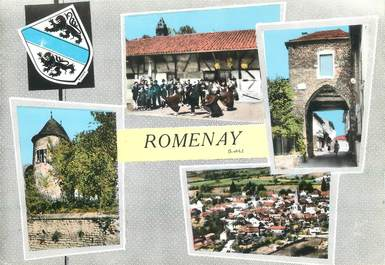 "/ CPSM FRANCE 71 ""Romenay"""