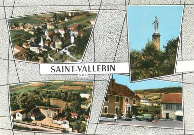 "/ CPSM FRANCE 71 ""Saint Vallerin"""
