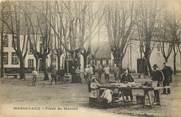 """68 Haut Rhin CPA FRANCE 68 """"Massevaux, Place du Marché"""""""