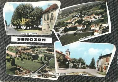 "/ CPSM FRANCE 71 ""Senozan"""