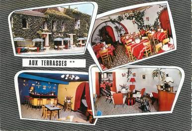 """/ CPSM FRANCE 71 """"Tournus, hôtel restaurant Aux Terrasses"""""""