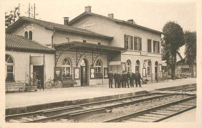 "CPA FRANCE 68 ""Sierentz, la gare"""
