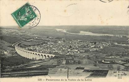 "CPA FRANCE 18 ""Sancerre, panorama de la vallée de la loire"""