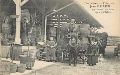 """CPA FRANCE 69 """"Lyon, Avenue Jean Jaurès, Commerce de Futailles"""""""