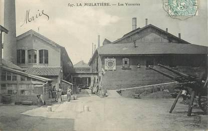 """CPA FRANCE 69 """"Lyon, la Mulatière, les Verreries"""""""