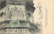 """Chine CPA CHINE """"Bas reliefs de la Tour de T'ien Ling T'sé près de Pékin"""""""