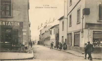 "CPA FRANCE 69 ""Lyon, Chemin Croix Barret"""