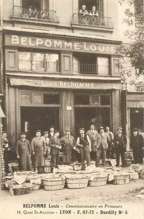 """CPA FRANCE 69 """"Lyon, Importation Exportation, BELPOMME LOUIS, Quai Saint Antoine"""""""