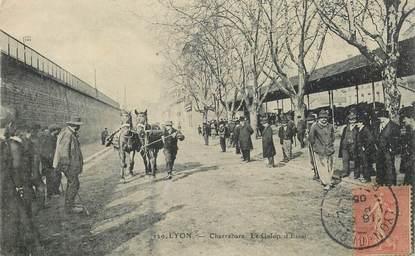 "CPA FRANCE 69 ""Lyon, Charrabara"" / CHEVAL"