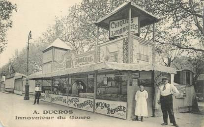 """CPA FRANCE 69 """"Lyon, A. DUCROS, Confiserie"""" / MANÈGE"""