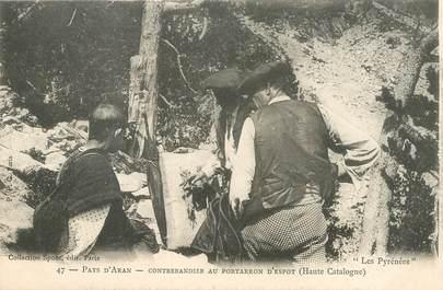 """CPA  FRANCE 65 """"Contrebandier au Portarron d'Espot"""" / Ed. SPONT"""