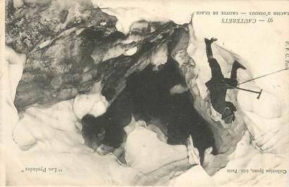 """CPA  FRANCE 65 """"Cauterets, grotte de glaces"""" /  Ed. SPONT"""